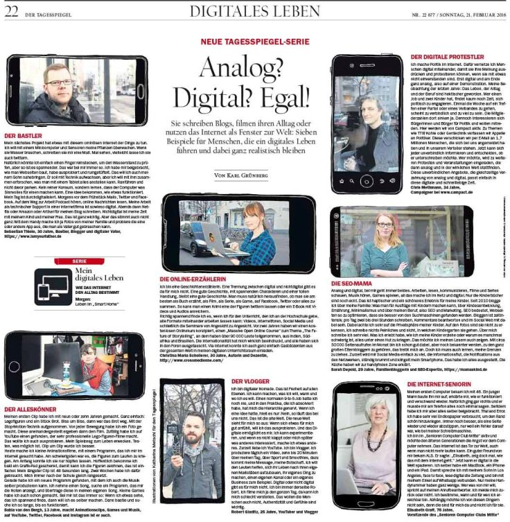 Digitales Leben Tagesspiegel